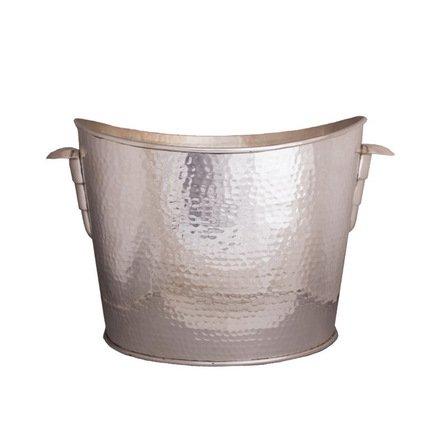 Ведро для льда, 38x22x22 см, серебряное PI 2570/S Roomers