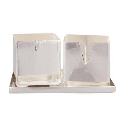 Eichholtz Набор Сахар/Сливки, 11.5х11.5х6 см, серебряный 9969 Eichholtz серебряный набор куница 548нб03806