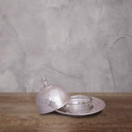Roomers Емкость для икры, 14х14х9 см, серебряная roomers консоль