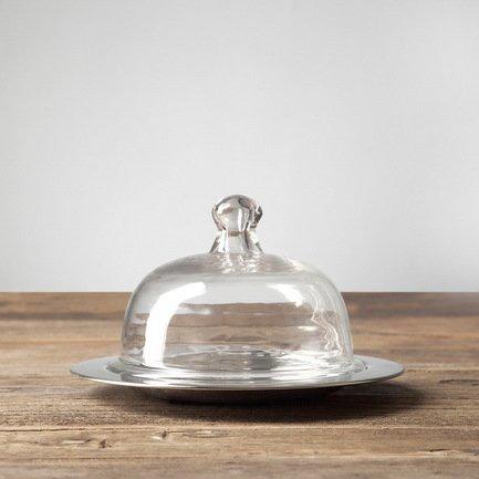 Roomers Емкость для масла, 21.5х21.5х13.5 см, прозрачная roomers консоль
