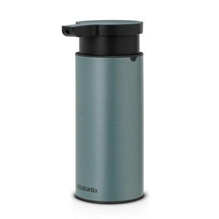 Brabantia Диспенсер для жидкого мыла, 16.5х6.5х9.5 см, мятный 107467 Brabantia диспенсер для жидкого мыла wasserkraft isar k 7399