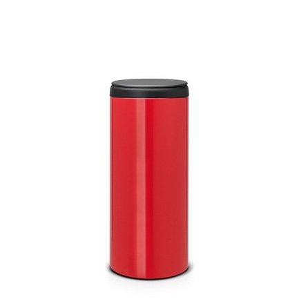 Brabantia Мусорный бак FlipBin (30 л), красный 106903 Brabantia brabantia мусорный бак flipbin 30 л белый