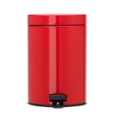 Brabantia Ведро для мусора с педалью (3 л), красное