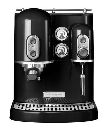 KitchenAid Кофеварка Artisan Espresso, черная 5KES2102EOB KitchenAid кофемашина polaris pcm 4002a