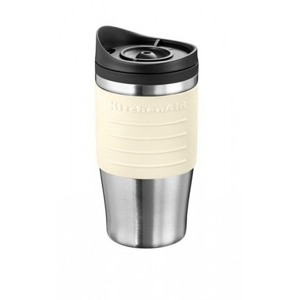 KitchenAid Кружка дополнительная для кофеварки 5KCM0402 (0.54 л), кремовая kitchenaid чугунная кастрюля 5 65 л 28 см кремовая