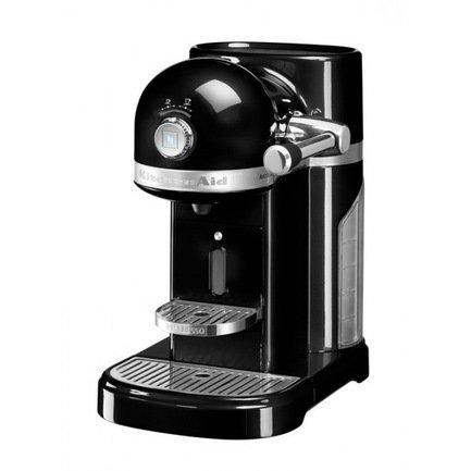 все цены на KitchenAid Кофемашина капсульная Artisan Nespresso с баком (1.4 л), черная 5KES0503EOB KitchenAid