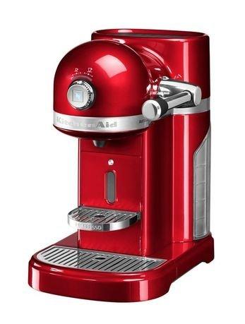 KitchenAid Кофемашина капсульная Artisan Nespresso с баком (1.4 л) кофемашина jura a9 aluminium 15118 1450вт 15бар автокапуч