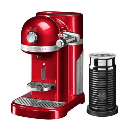 KitchenAid Кофемашина капсульная Artisan Nespresso и Aeroccino с баком 1.4 л 5KES0504ECA KitchenAid novatec d881 d882 mtb bike hubs fr am mountain bike disc hubs 15 mm rear hub front 12 x142 barrel shaft hub 32 holes page 6