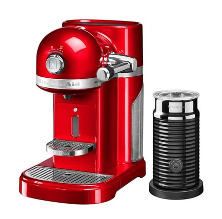 KitchenAid Кофемашина капсульная Artisan Nespresso и Aeroccino 5KES0504EER KitchenAid тостер kitchenaid 5kmt2204ems artisan