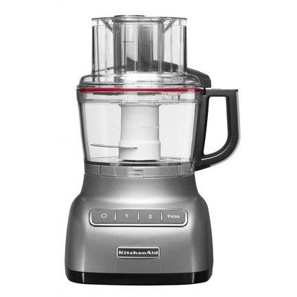 KitchenAid Процессор кухонный (2.1 л), серебристый kitchenaid набор прямоугольных чаш для запекания 0 45 л 2 шт красные