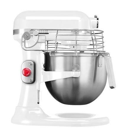 KitchenAid Миксер планетарный Professional, дежа (6.9 л), 3 насадки, белый