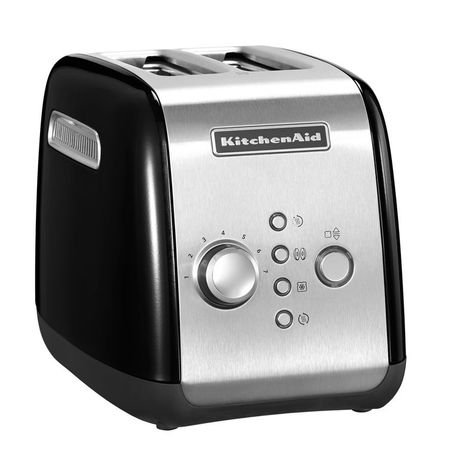 KitchenAid Тостер на 2 ломтика, черный 5KMT221EOB KitchenAid