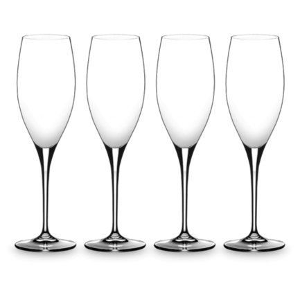 Riedel Набор фужеров Heart to Champagne Glass (330 мл), 4 шт. 5409/08