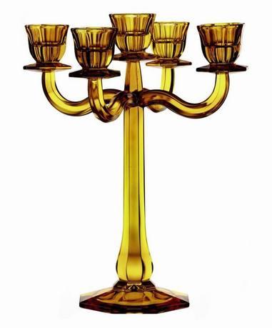 Nachtmann Подсвечник 5-ти рожковый Ravello, 30 см, желтый 71191