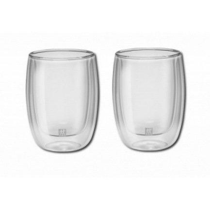 Zwilling J.A. Henckels Набор стаканов для кофе (200 мл), 2 шт. 39500-076 Zwilling J.A. Henckels набор одноразовых стаканов buffet biсolor цвет оранжевый желтый 200 мл 6 шт