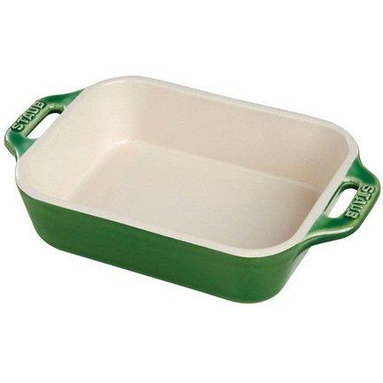 Staub Форма прямоугольная керамическая (2.4 л), 27х20см, зеленая 40510-811 Staub для школы нужна временная или постоянная регистрация
