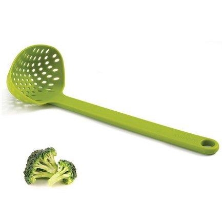 Половник-шумовка Scoop, 27.5х7.5х10 см, зеленый