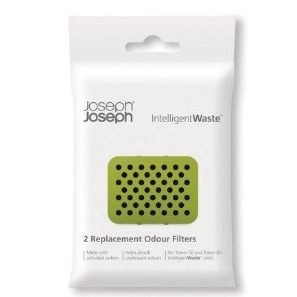 Joseph&Joseph Фильтры для контейнера для сортировки мусора Totem, 7х0.5х9.5 см, 2 шт.