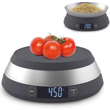 купить Весы кухонные SwitchScale, до 5 кг, 22х9х18 см, серые 40054 Joseph & Joseph дешево