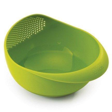 Миска и дуршлаг 2-в-1 Prep&Serve большая, 20.7х18х29 см, зеленая