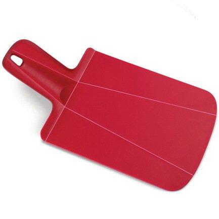 Joseph&Joseph Доска разделочная Chop2Pot, мини, 31.8х2х17 см, красная 60052