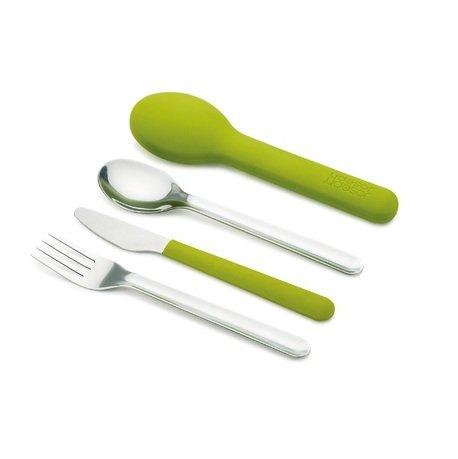 Joseph&Joseph Набор столовых приборов GoEat Cutlery Set, зелёный, 4 пр. 81033 Joseph&Joseph столовые приборы 81033 joseph joseph