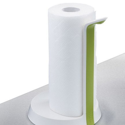 Держатель для бумажных полотенец Easy Tear, 25.5х17.5 см, белый