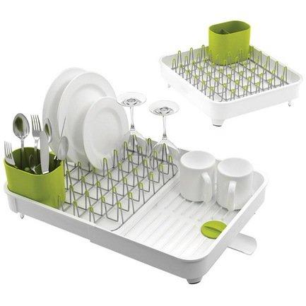 Фото - Сушилка для посуды раздвижная Extend, 36х32х16 см, белая 85071 Joseph & Joseph коврик для посуды joseph joseph