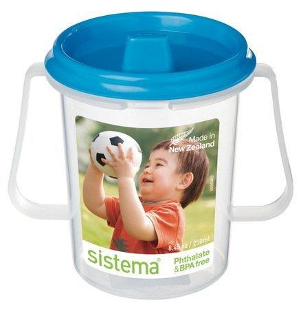 Sistema Детская чашка с трубочкой (250 мл), 11х8х10.6 см 67 Sistema бутылка для воды sistema hydrate трио цвет фиолетовый 480 мл 820
