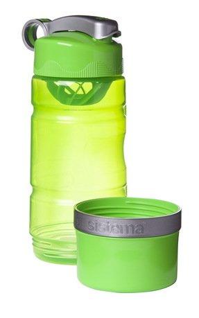 Sistema Спортивная бутылка (615 мл), 8.7х7.9х23 см, цвета в ассортименте 535 Sistema бутылка спортивная sport victory nutrition цвет белый черный прозрачный 750 мл