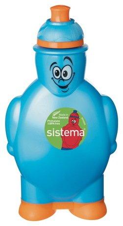 Бутылка для воды (350 мл), 10х5.8х17.5 см, цвета в ассортименте от Superposuda
