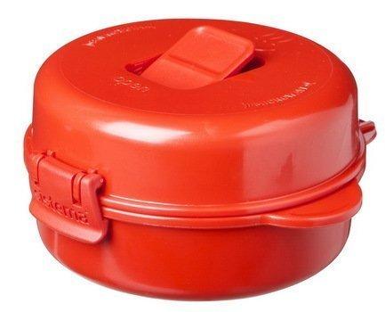 Sistema Омлетница-яйцеварка Microwave (271 мл), 12.5х13.7х6.7 см, красная 1117 Sistema