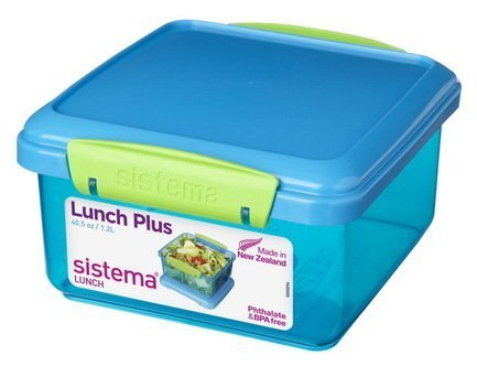 Sistema Контейнер Lunch (1.2 л), 15.5х15х8 см, цвета в ассортименте 31651 Sistema 2018 fashion portable insulated oxford lunch bag thermal food picnic lunch bags for women kids men cooler lunch box bag tote