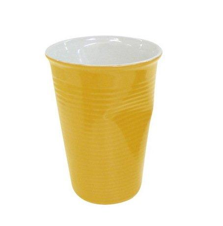 Ceraflame Мятый стаканчик керамический желтый 0,24л 080720G Ceraflame стакан ceraflame мятый 240мл керамика