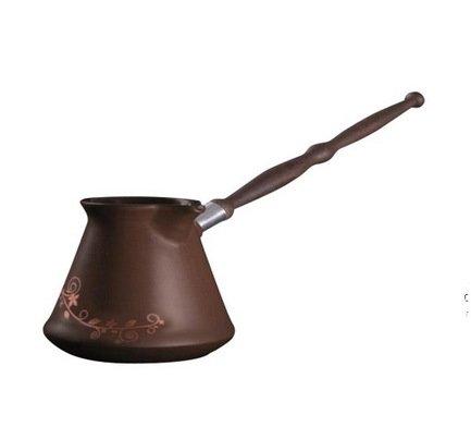 Ceraflame Турка Ibriks 0.5л шоколад с декором D93328 Ceraflame турка ceraflame ibriks hammered цвет медный 500 мл