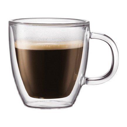 Bodum Набор термокружек Bistro (0.15 л), 2 шт. kitchenaid набор прямоугольных чаш для запекания 0 45 л 2 шт красные