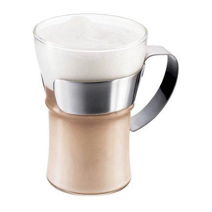Bodum Набор кружек чайных Assam (0.35 л), 2 шт. хром 4553-16 Bodum набор котелков ecos camp s1 походных 1 л 2 л 3 л