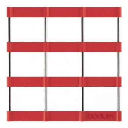 Bodum Подставка под горячее Bistro, 17.5х17.5 см, красная 11553-294