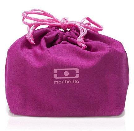 купить Monbento Мешочек для ланча MB Pochette color, 19x20x17 см, малиновый недорого
