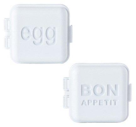 Monbento Пресс-формы для яйца, 2 шт., белые, 5.5х5.5х3.3 см 1009 01 001