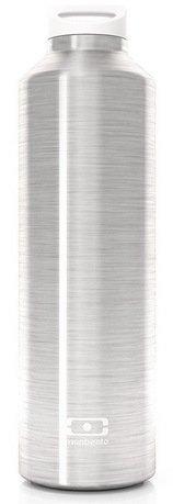 Термос MB Steel (0.5 л), 23.8x7 см, серебристый 4011 01 000 Monbento термос mb steel 0 5 л 23 8x7 см оникс 4011 01 002 monbento