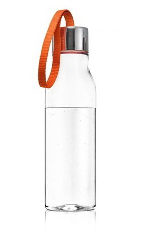 Бутылка спортивная Eva Solo, оранжевая (500 мл), 6.5x23.5 см 502993 Eva Solo eva solo крышка дуршлаг 20 см