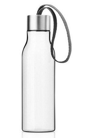 Бутылка питьевая спортивная, серая (500 мл), 6.5x23.5 см 502990 Eva Solo майка 500 спортивная для мальчиков серая