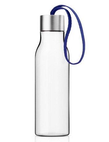 Бутылка питьевая спортивная, синяя (500 мл), 6.5x23.5 см 502989 Eva Solo