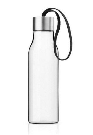 Бутылка питьевая спортивная Eva Solo, черная (500 мл), 6.5x23.5см 503022 Solo