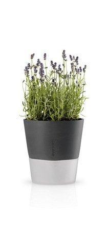 Горшок для растений с естественным поливом Eva Solo Flowerpot, серый, 20.5x23 см 568116