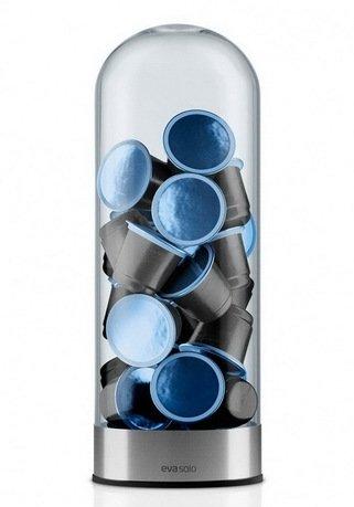 Eva Solo Диспенсер для кофейных капсул, 7,9 см держатель для капсул xavax 111116 rondello silver