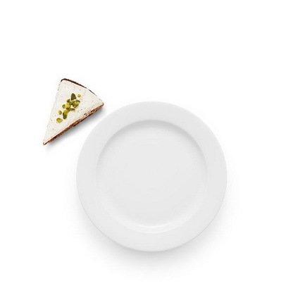 Eva Solo Тарелка обеденная Legio, белая, 19x1.7 см 886219 Eva Solo eva solo чайник заварочный в неопреновом чехле 1 л черный 567489 eva solo