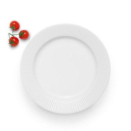 Eva Solo Тарелка обеденная Legio Nova, белая, 25 см 887225 Eva Solo eva solo мельничка для соли и перца малая белая