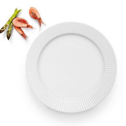 Eva Solo Тарелка обеденная Legio Nova, белая, 28 см 887228 Eva Solo eva solo мельничка для соли и перца малая белая